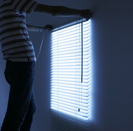 Bright Blinds Add A Fake Window To Your Dungeon: fake window for basement