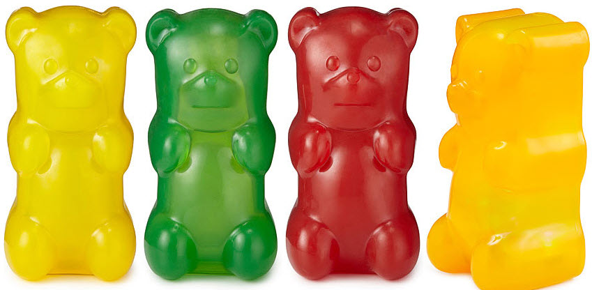 Gummy Bear Light Squishy Night Lamp Looks Good Enough To Eat