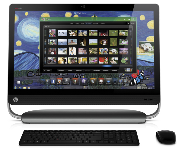 hp announces 27 inch all in one windows pc. Black Bedroom Furniture Sets. Home Design Ideas
