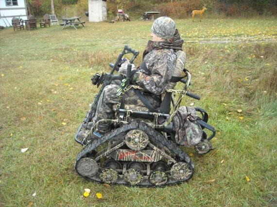 Action trackchair is an all terrain wheelchair for All terrain motorized wheelchairs