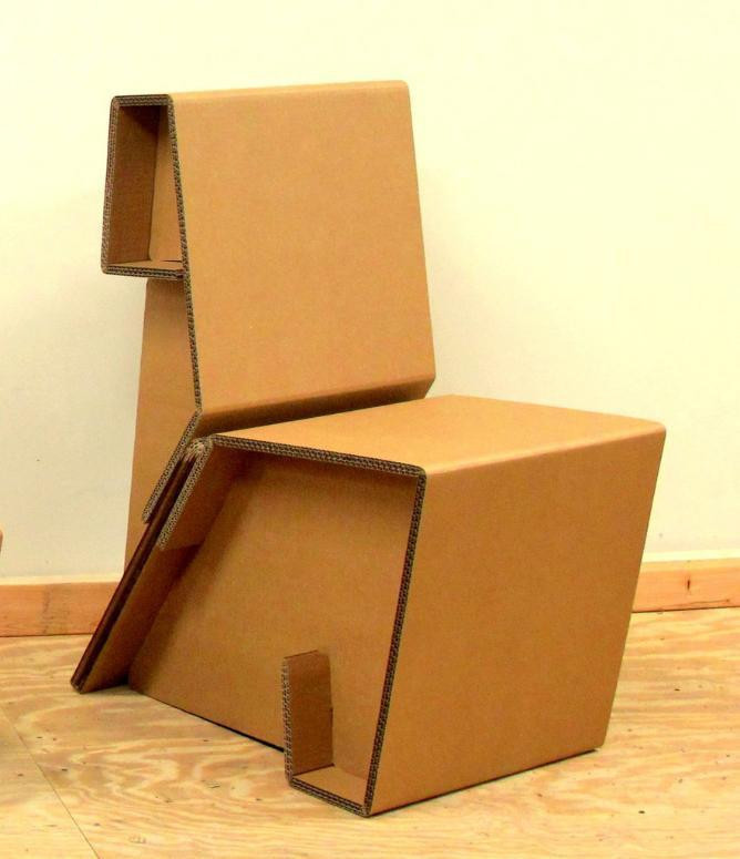 Chairigami Cardboard Chairs Look Equally Amazing And