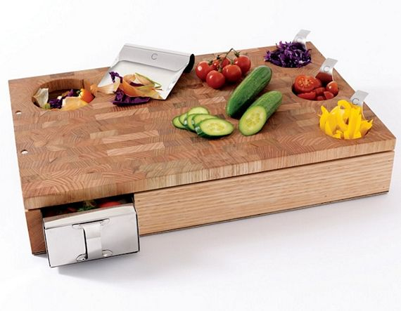 Curtis stone workbench is cutting board for serious cooks for Gadget cuisine design