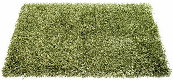 Outdoor Shag Rug Turns Paved Backyards Into Grassy Grounds
