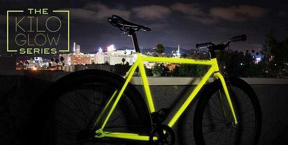 kilo a fixed gear bike that glows in the dark. Black Bedroom Furniture Sets. Home Design Ideas