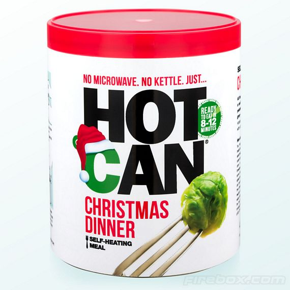 What To Have For Dinner: Hot Can Christmas Dinner: Because It's A Lonely World Out