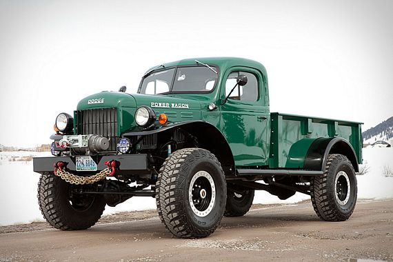 seen update the vintage workhorse better than the Legacy Power Wagon