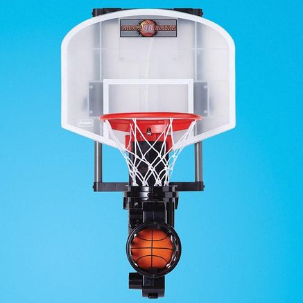 shoot again basketball nerf hoops with ball return system
