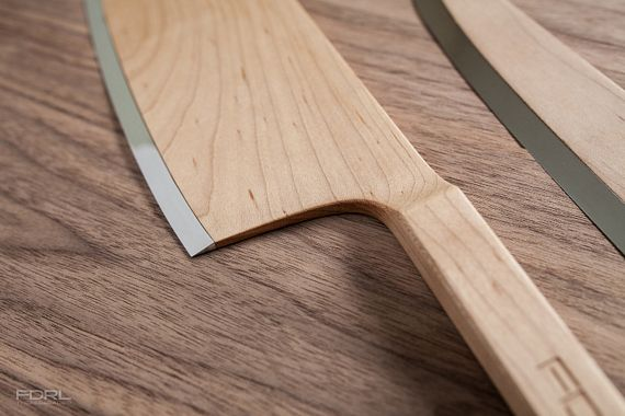 federal maple set puts as much wood as you can on a knife