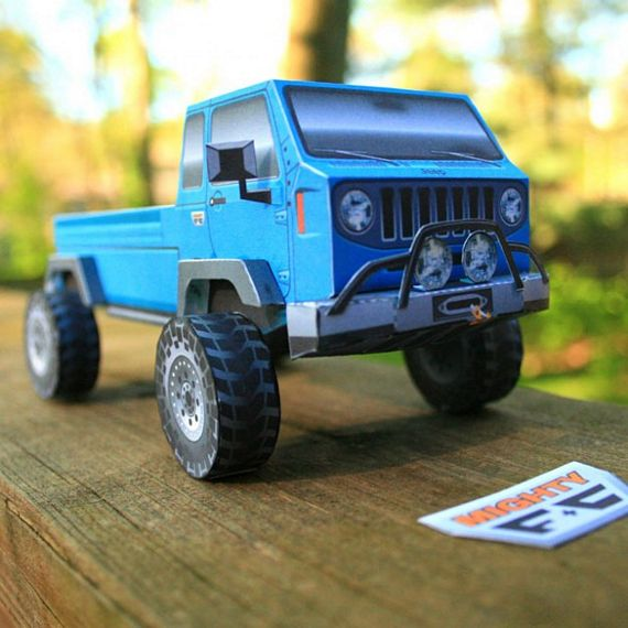 Papercruiser Foldable Model Vehicles: Build Your Own Fleet