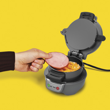 Breakfast Sandwich Maker Cooks Your Meal In Five Minutes
