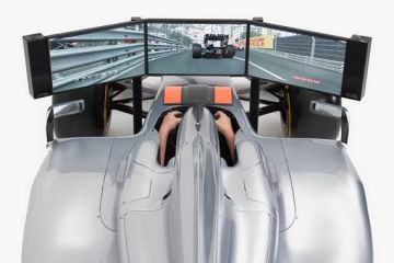 Full Size Formula 1 High End Racing Car Simulator by FMCG International