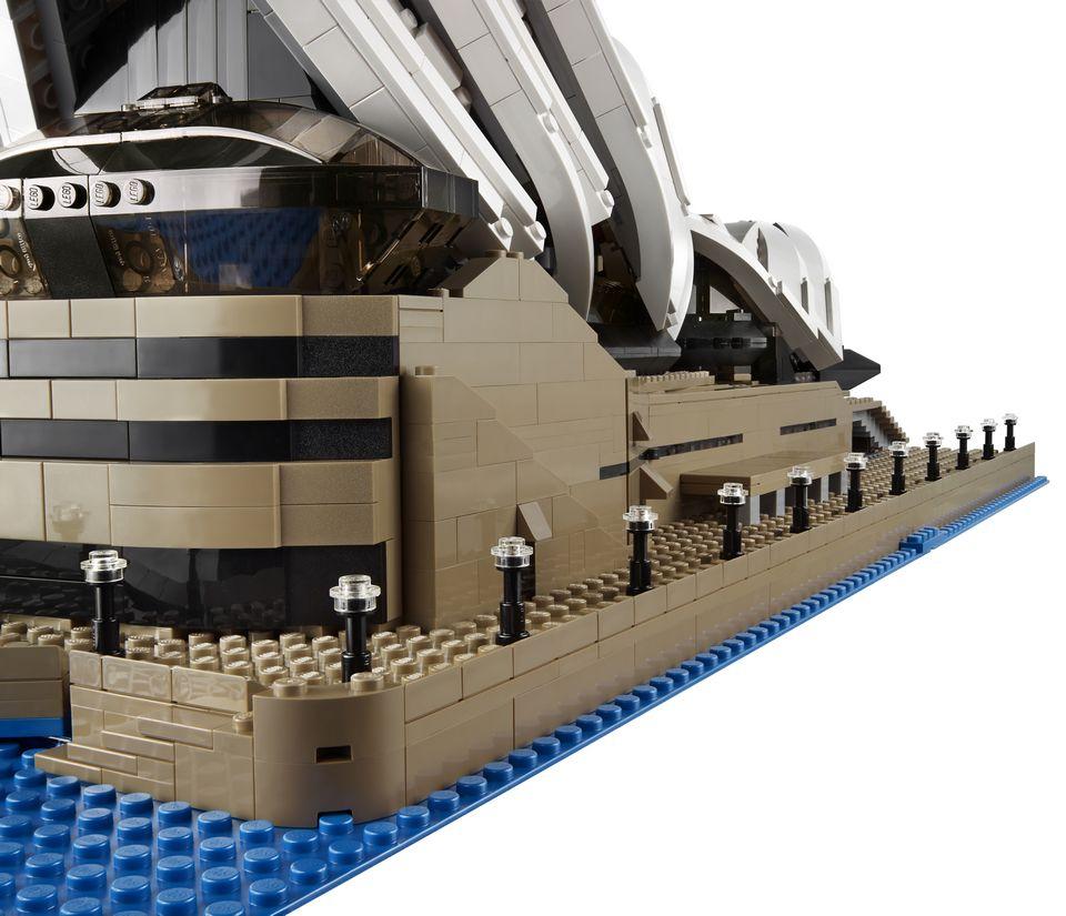 Sydney Opera House Lego Lego Sydney Opera House