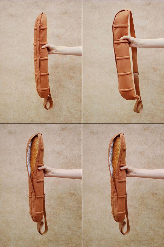 baguette bag straps  french loaf