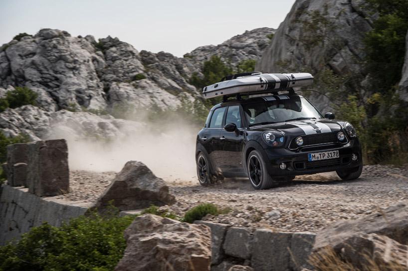 Mini Cooper Shows Off Three Mini Camper Concepts