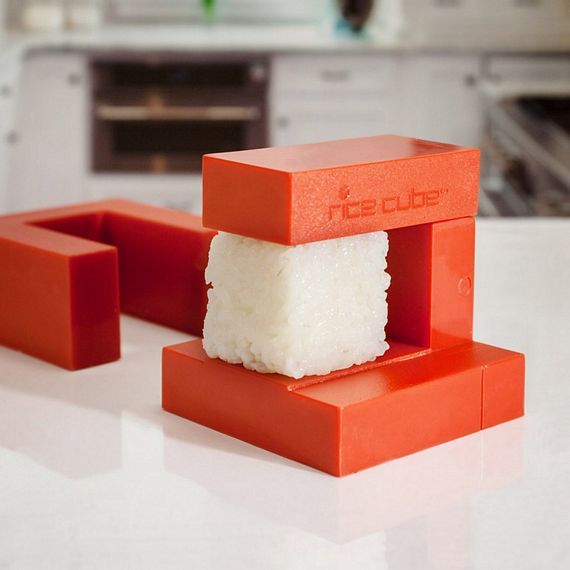Rice cube takes complicated out of sushi making for Cool gadgets to make at home