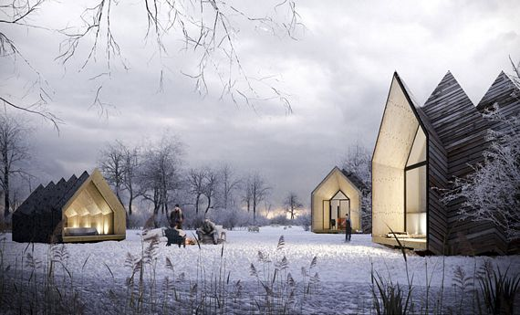 Hermit Houses Are Flat Packed Diy Homes