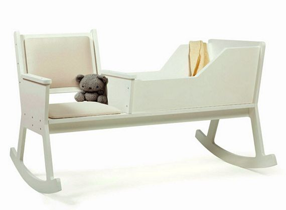 Rockid Combines Rocking Chair And Cradle In One Smart Design
