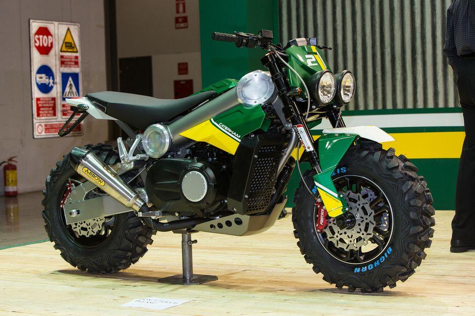 Brutus 750 Motorcycle