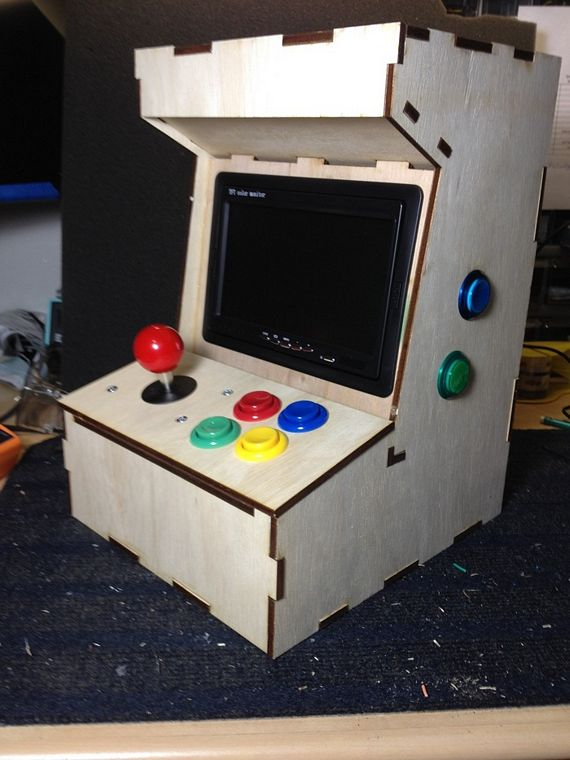 Porta Pi Is An Arcade Cabinet Powered By Raspberry Pi