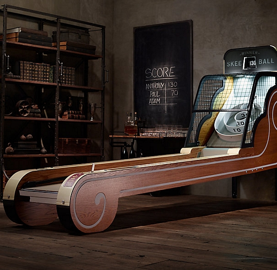 Man Cave Items To Buy : Vintage arcade skeeball