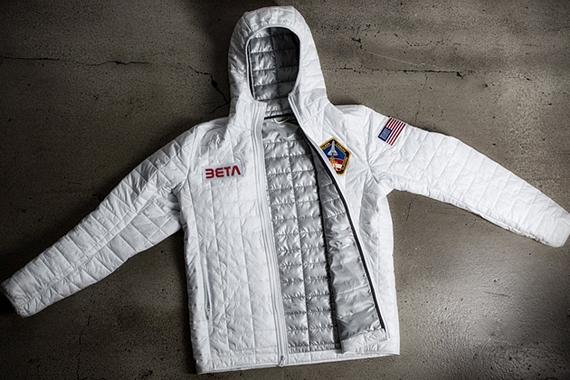 Betabrand space jacket for Outer space clothing