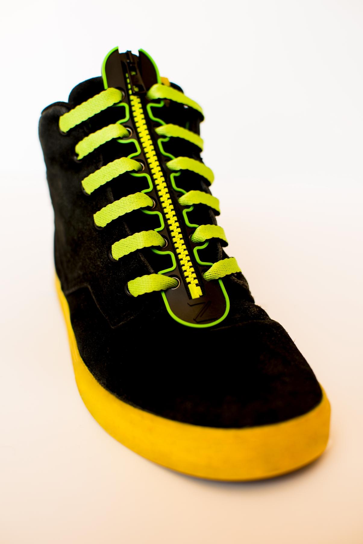 Zip Up Shoe Laces