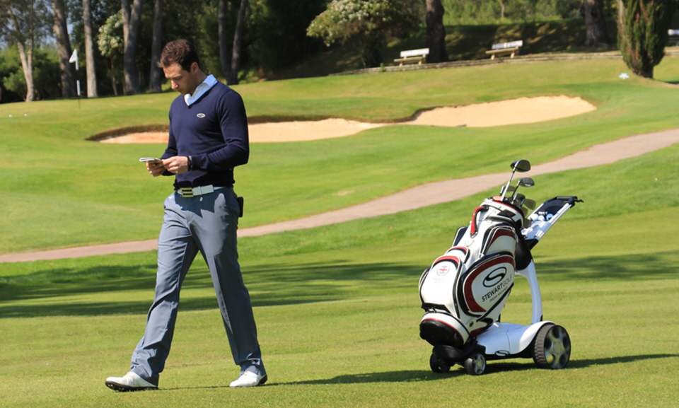 X9 Follow Golf Trolley