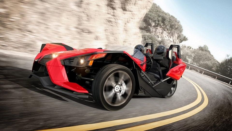 Polaris Slingshot This Exotic Looking Three Wheeled