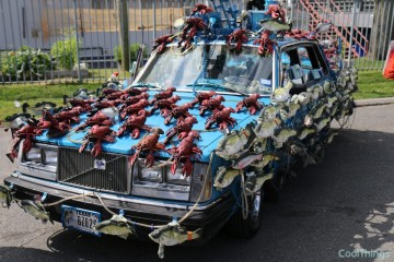 Sashimi Tabernacle Choir Art Car