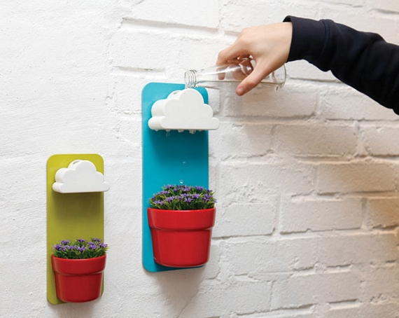 This Rainy Pot Self Watering Planter Is Impossibly Cute