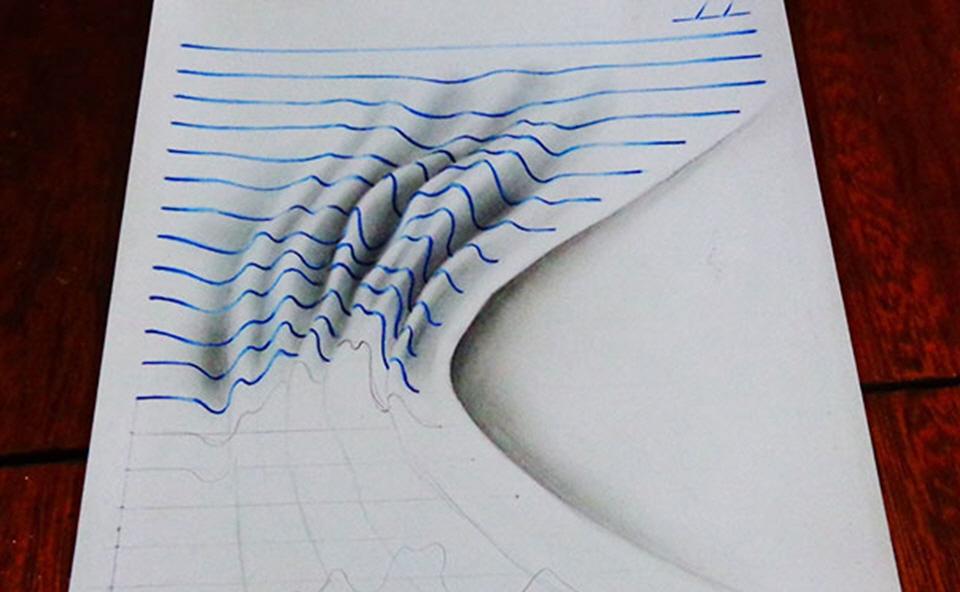 Jo O Carvalho S 3d Notepad Art