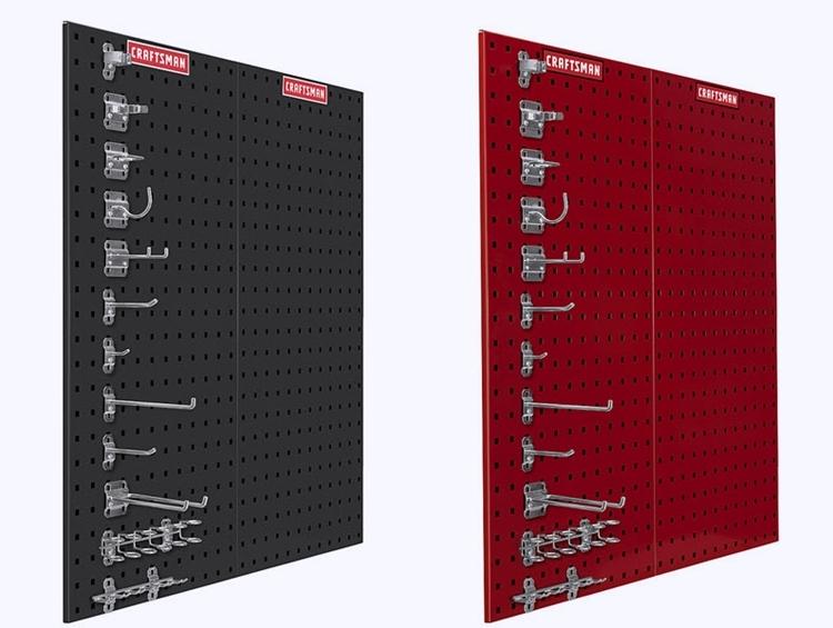 Craftsman Heavy Duty Locking Pegboard System