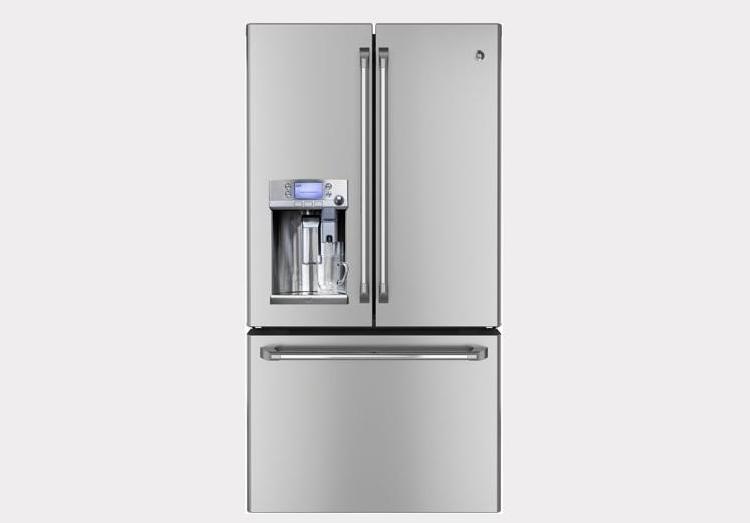 Ge Refrigerator With Keurig Coffee Maker Lowe S : GE Cafe Refrigerator with Keurig K-Cup Brewing System