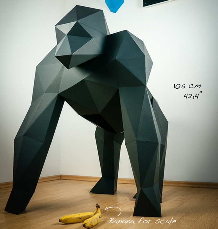 papertrophy-diy-gorilla-papercraft-1