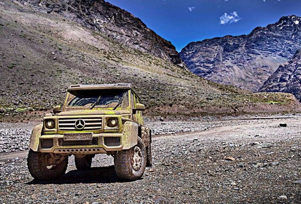 Mercedes benz g 500 4x4 squared for Mercedes benz 4x4 squared
