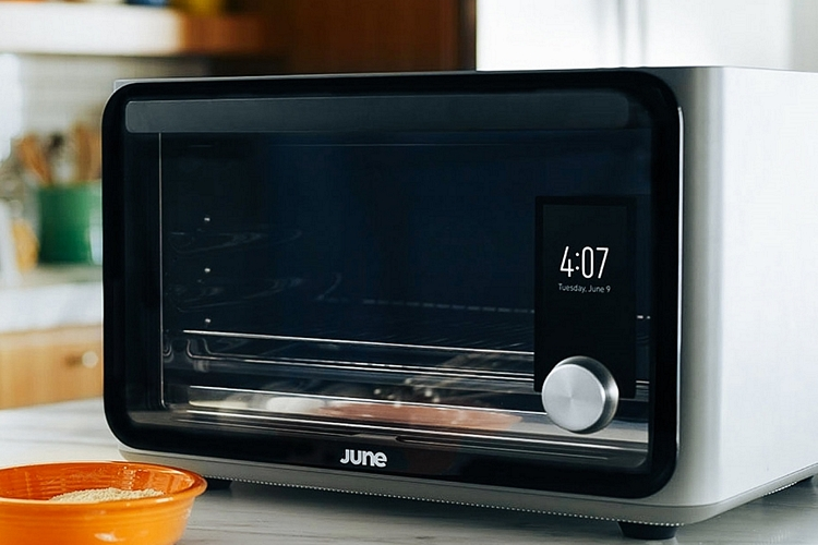 June Intelligent Oven Can Identify What You Want To Cook And Make Its ...