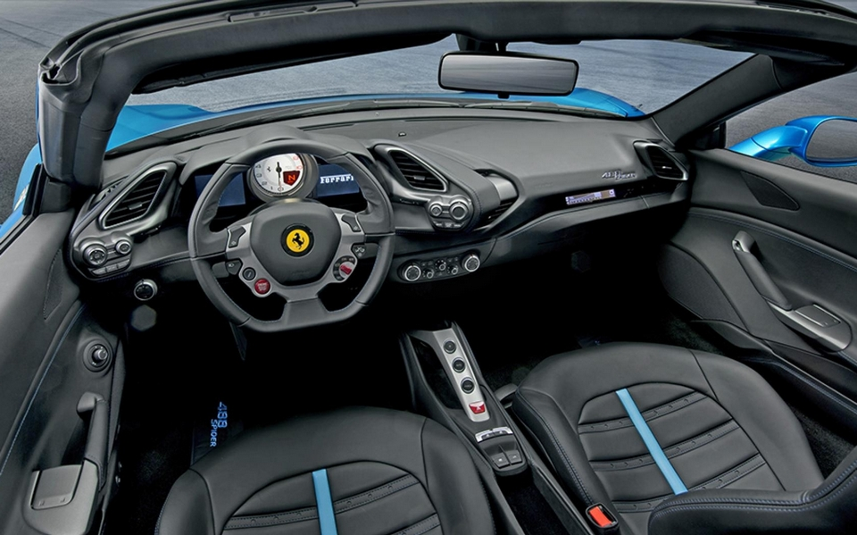 ferrari 488 spider. Black Bedroom Furniture Sets. Home Design Ideas