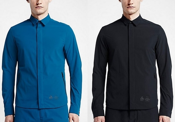 Nikelab acg tech shirt for Zip up dress shirt