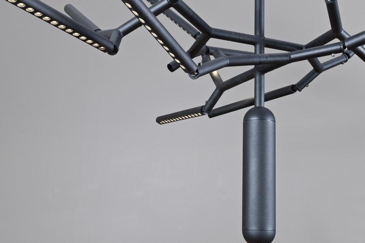 branch chandelier. Black Bedroom Furniture Sets. Home Design Ideas