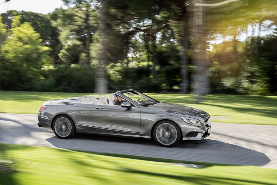 2017 mercedes s class cabriolet finally a new drop top for Drop top mercedes benz prices