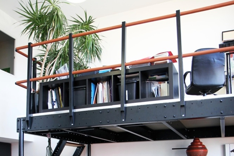 New york diy loft kit for How to build a mezzanine floor in your home