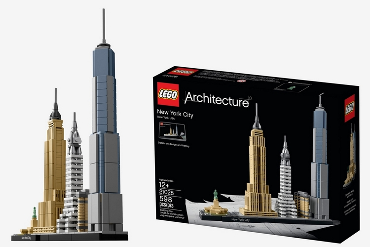 Lego architecture new york city for Lego architecture new york