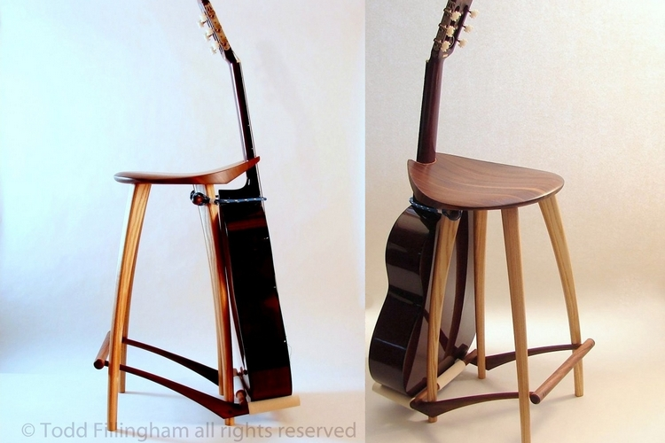 Guitar Stool Stand