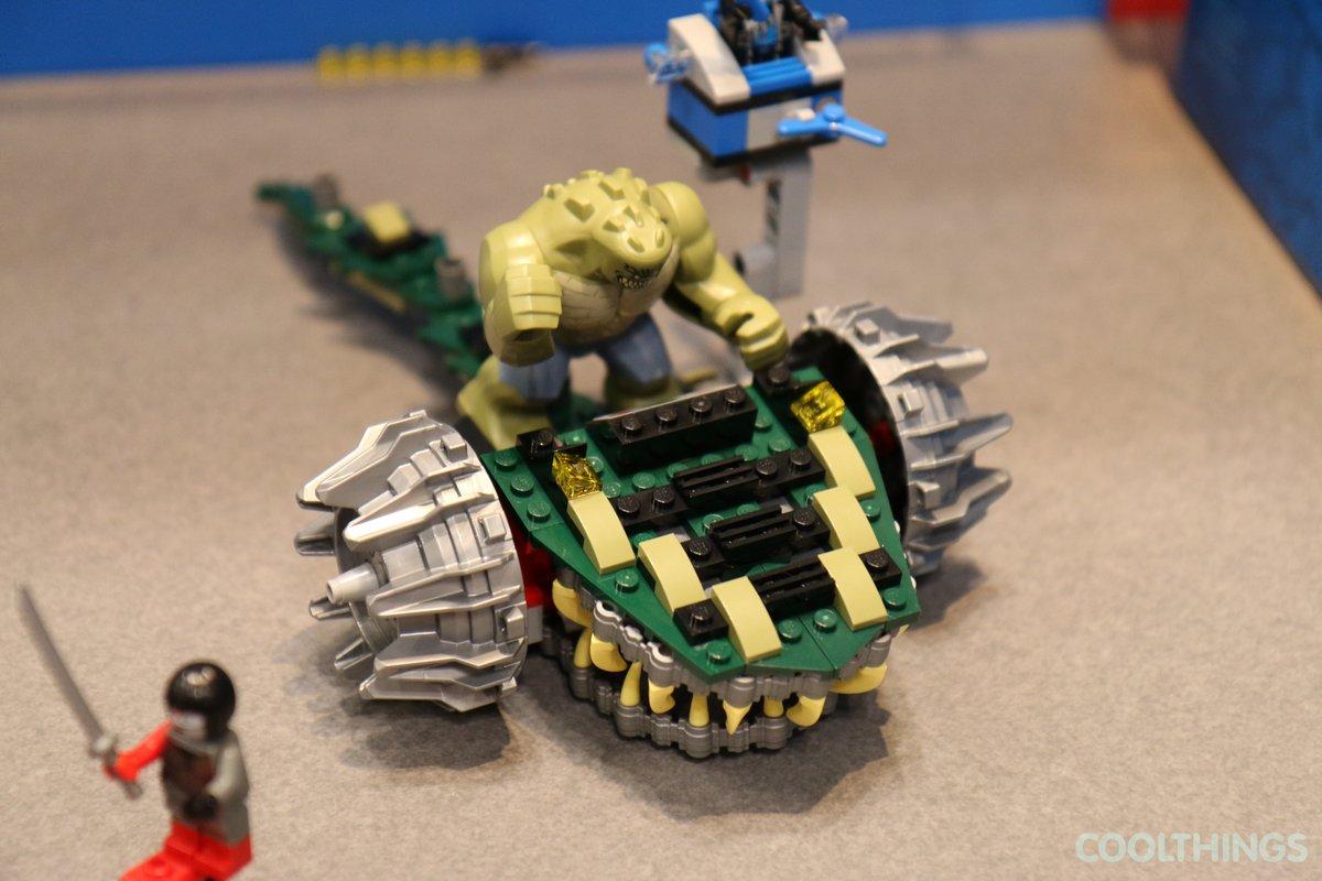 lego batman killer croc instructions