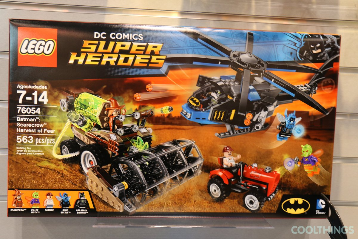 LEGO Set Batman Scarecrow Harvest of Fear Pics
