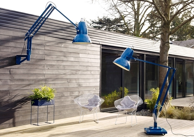 Anglepoise original 1227 giant outdoor collection - Lampadaire exterieur ikea ...