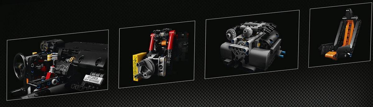 LEGO Technic Set 42056 Porsche 911 GT3 RS Engine Parts