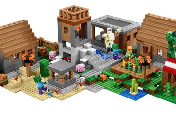 lego-minecraft-the-village-set