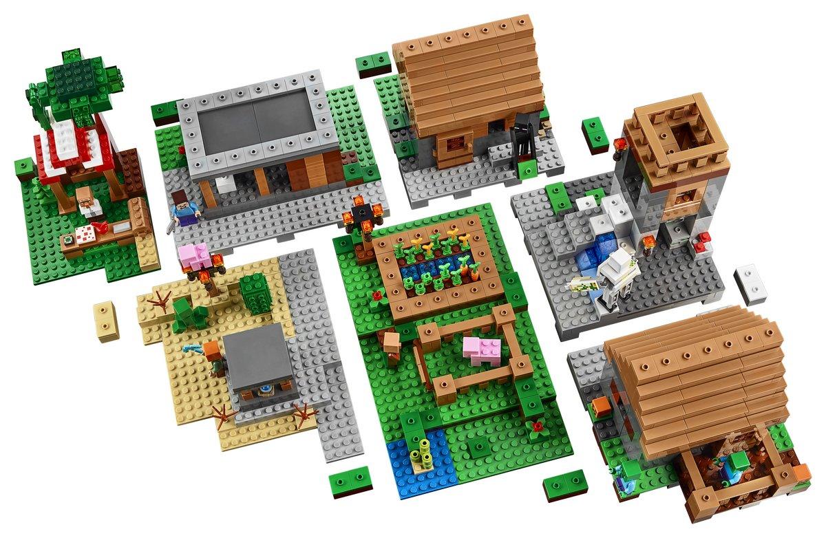 lego minecraft set 21128 the village. Black Bedroom Furniture Sets. Home Design Ideas