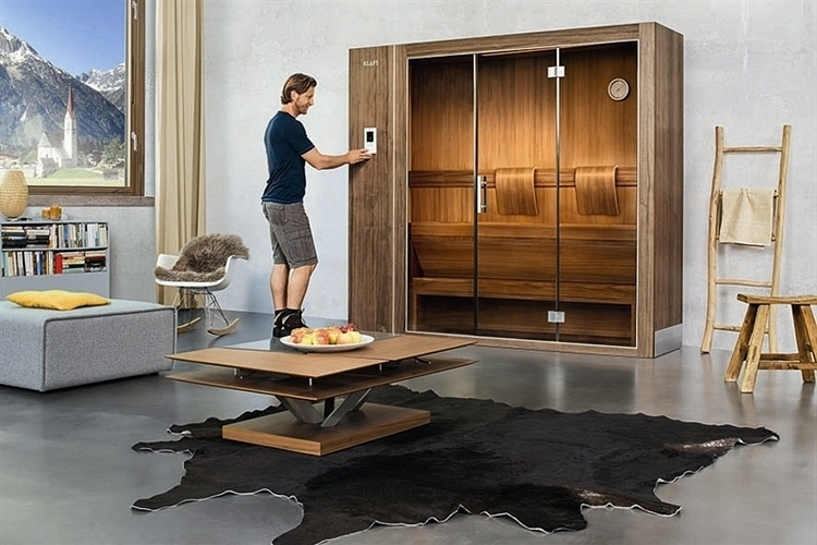 klafs sauna s1. Black Bedroom Furniture Sets. Home Design Ideas